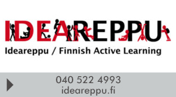 Ideareppu / Finnish Active Learning avoin yhtiö logo